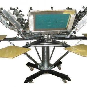 Manual Textile Printing Machine
